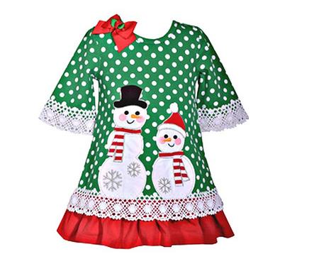 43f0aa0c66fec BONNIE JEAN SNOWMAN/SNOWWOMAN DRESS ...